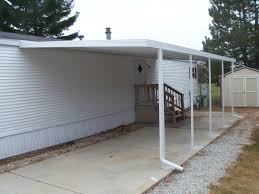 mobile home carport gutters gutters ideas