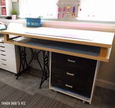 ikea craft table hack sewing table ikea hack choice image table decoration ideas