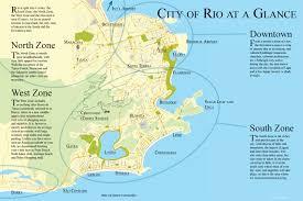 city map of brazil map of de janeiro neighborhoods