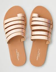 faux leather sandals american eagle outfitters