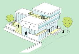 drug rehabilitation center floor plan welcome centre by peter barber architects