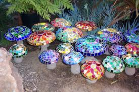 glass garden decoration mosaic home decor 83843