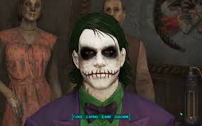 halloween the joker the joker at fallout 4 nexus mods and community