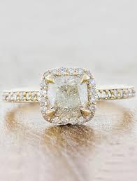 cushion halo engagement rings cora cushion cut halo engagement ring ken