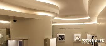 illuminazione a soffitto a led piatto lada led per velette in cartongessoessenzialed