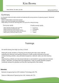 Best Looking Resume Format by Stunning Proper Resume Format Ideas