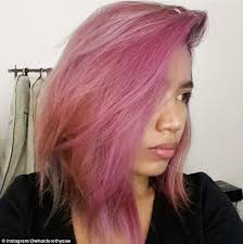 dye hair crepe paper daily mail