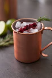 cranberry wine moscow mule thanksgiving