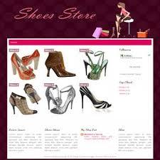 shoes online shop blogger template dhetemplate