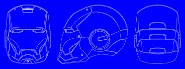 how to model an iron man helmet in catia v5 grabcad