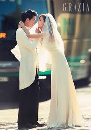 Wedding Dress Korean Movie Top 7 Korean Stars With Best Wedding Photos