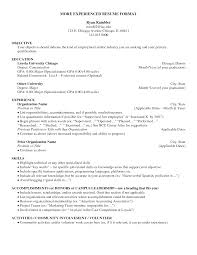 Volunteer Work On A Resume Should You Put Gpa On Resume Resume For Your Job Application