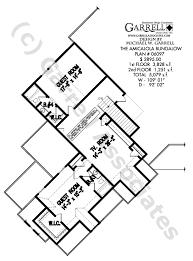 Bungalow Plans Amicalola Bungalow House Plan House Plans By Garrell Associates