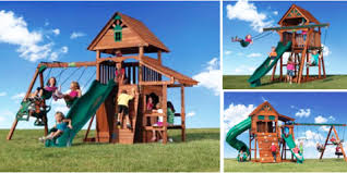 Backyard Adventure Playset by 3 Play Set Safety Tips For Your Kids From San Antonio U0027s Backyard