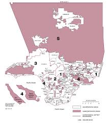 Los Angeles Rent Control Map by Unincorporated Los Angeles County Map Indiana Map