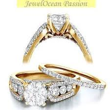 gold wedding rings sets jeenjewels bridal sets sears
