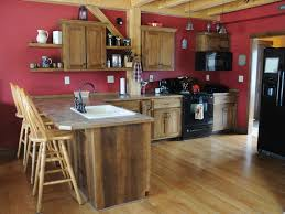 Rustic Hickory Kitchen Cabinets Rustic Hickory Kitchen Overholser Cabinetsoverholser Cabinets