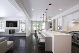modern kitchen island simple and easy a white modern kitchen with long kitchen island and