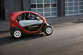 renault twizy vs smart fortwo new mobility concept review