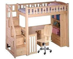 Top Bunk Bed With Desk Underneath Bunk Beds With Desk Underneath