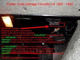 1992 corvette ecm chevrolet corvette c4 diagnose system