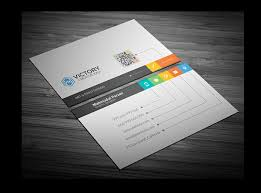 23 free business cards psd vector eps png format download