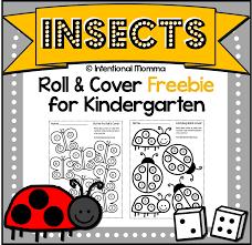 kindergarten worksheet freebie for spring the intentional momma