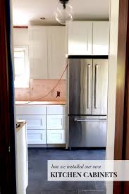 diy kitchen cabinets install how is it to install kitchen cabinets the exciting
