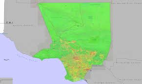 Los Angeles County Map by La County Cancer Risk Data Los Angeles County Enterprise Gis