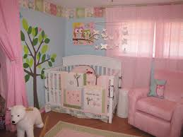 Girls Pink Rug Bedroom Girls Bedroom Kids Bedroom Decor With White Crib Plus