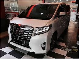 toyota new 2017 toyota alphard 2017 3 5 in kuala lumpur automatic mpv white for rm