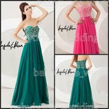prom dresses sweetheart beaded fuchsia forest green prom dresses
