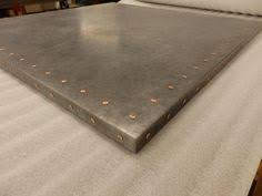 zinc table tops for sale galvanized steel table top for the home pinterest steel table