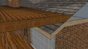 Roofing For Pergola by Attaching Pergola To Shingle Roof