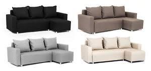 Corner Sofa Bed With Storage by Oslo Corner Sofa Bed With Underneath Storage In Grey Brown Black