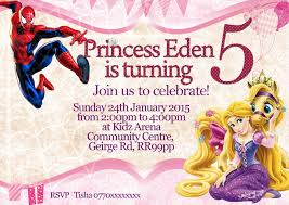 personalise disney princess aurora party invitations thank you cards