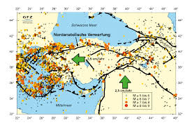 Earthquake Map Oregon by Seismic Gap Outside Of Istanbul Is This Where The Expected