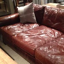 extra deep leather sofa extra deep leather couch heart restoration hardware feels like a