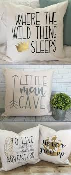 Nursery Decorative Pillows Nursery Decorative Pillow Covers Toddler Boy S Bedroom Decor