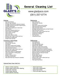 services we offer glady u0027s cleaning services