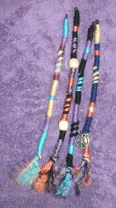 hippie hair wraps hippie hair accessories hippie hair wraps oranges and blues