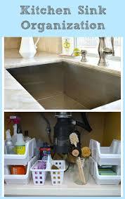 Kitchen Sinks Stores Kitchen Sink Organization My Uncommon Slice Of Suburbia