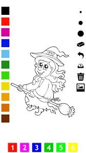 halloween coloring book children learn draw color