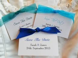 cheap save the date cards ribbon save the date cards