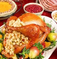 sabes por qué en ee uu cocinan pavo relleno el día de acción de gracias