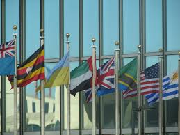 Picture Of Un Flag Flags In Front Of Un Headquarters With Only Five Years Lef U2026 Flickr
