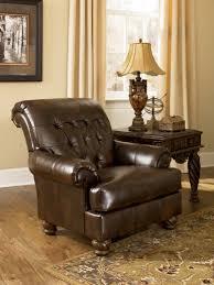 Antique Accent Chair Signature Design By Fresco Durablend Antique Accent Chair