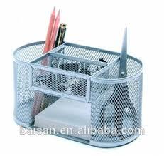Metal Desk Organizer Metal Mesh Rotating Desk Organizer Office Desktop Organizer Buy