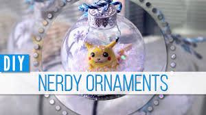 nerdy diy snow globe ornaments mangosirene