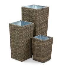 Garden Furniture Ideas Decor Wicker Cover Tall Planters For Cozy Garden Furniture Ideas